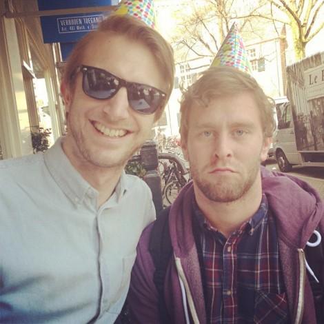 Tim en Bram