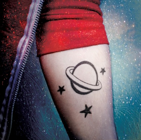 Planet Heartbreak tattoo
