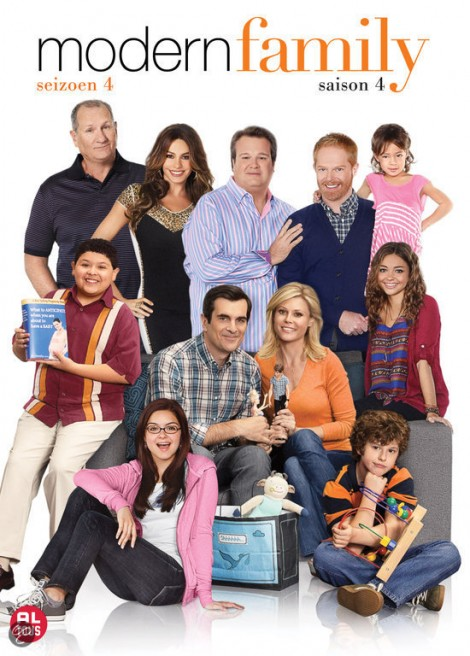 Win de DVD van Modern Family seizoen 4!
