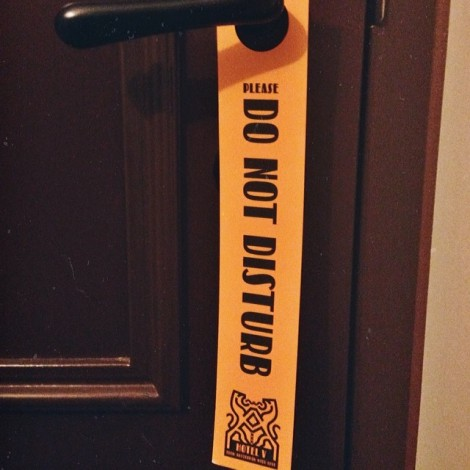 Do not disturb Hotel V