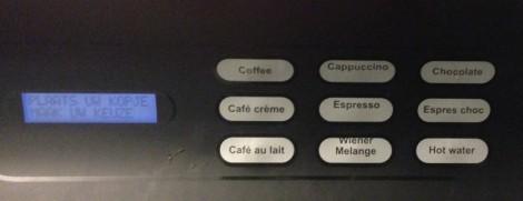 Nescafé automaat