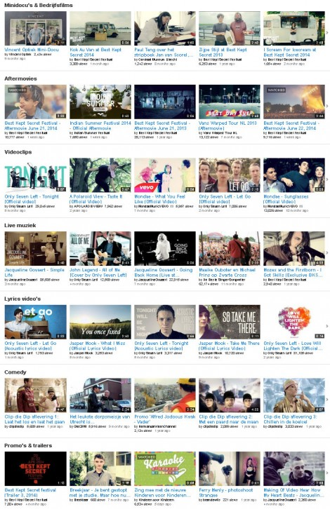 Bram de Wijs op YouTube