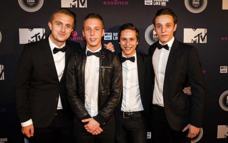 Only Seven Left MTV EMA's preparty