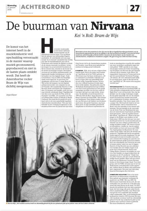 Bram de Wijs interview Stad Amersfoort